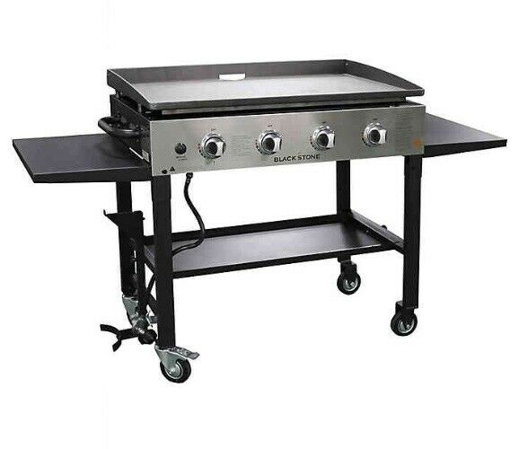 Blackstone 36in 4 Burner Gas Griddle Grill Stainless Steel B