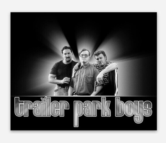 Trailer Park Boys, Bubbles, Ricky And Julian Vinyl Sticker Decal