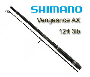 Shimano-Vengeance-AX-Specimen-12ft-3lb-Carp-Fishing-Rod-2-sections-2-piece-NEW