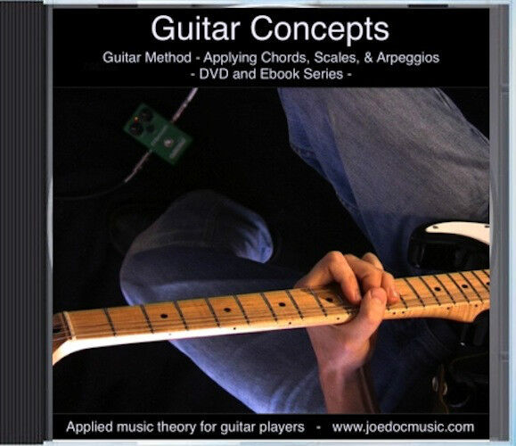 Learn To Play Lead Guitar DVD / Solo Lessons, CAGED, Guitar Neck & Action Setup