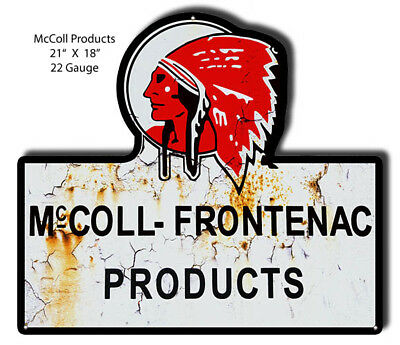 McColl Frontenac Laser Cut Out 18x21