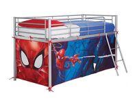 Mid sleeper bed Spider-Man