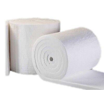 Us Made Premium Ceramic Fiber Insulation Blanket 2300f 8lb 2 X 24 X 48 8 Sf