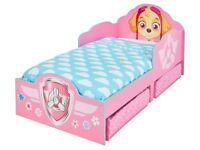 Paw Patrol beds with under bed storage.