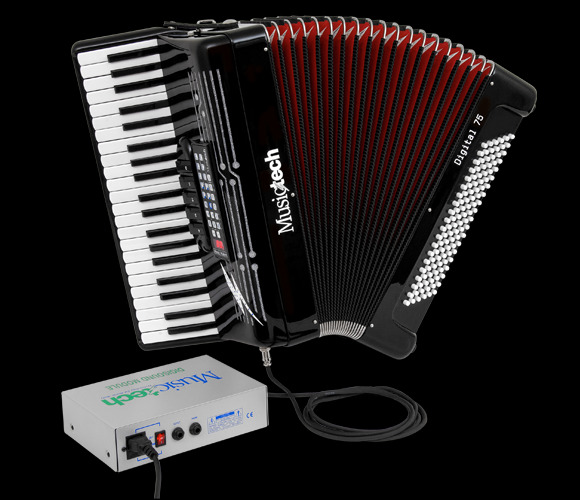 MusicTech digital accordions Made In Italy