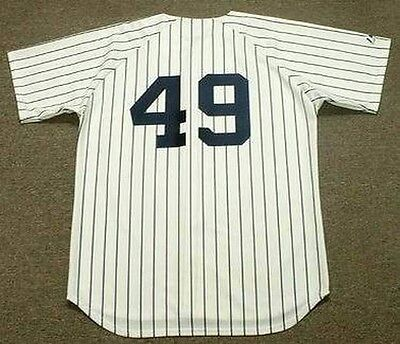 RON GUIDRY New York Yankees 1978 Majestic Cooperstown Home Baseball Jersey