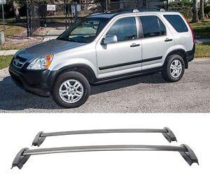 For 02 06 Honda CRV Roof Rack Cross Bar Luggage Carrier Bar OE Style Pair
