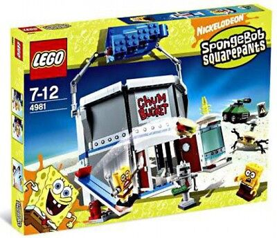 LEGO Spongebob Squarepants Chum Bucket Set #4981 - Spongebob Buckets