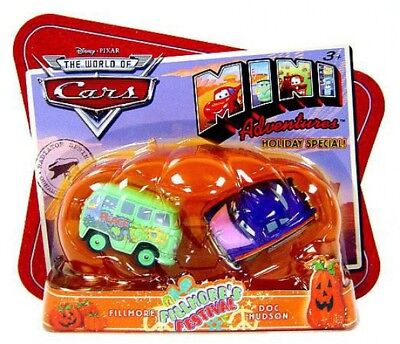 The World of Cars Mini Adventures Fillmore's Festival Plastic Car 2-Pack
