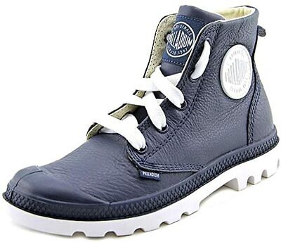 Hiking Boots PALLADIUM Blanc Hi Lea 72901419 INDIGO/WHITE WOMEN 10.5/ MEN 9