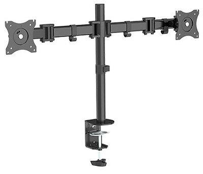 Dual Monitor Schwenkarm Tisch Halterung Doppel Halter Bildschirm Ständer 2x 8KG Dual Monitor Arm