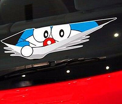 Doraemon Vinyl Decal Sticker BELL Japanese manga anime car window laptop wall
