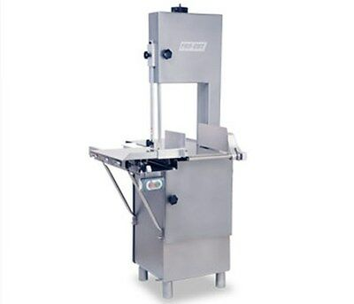 New Butcher Meat Band Saw Heavy Duty 1-12 Hp 116 120 V Or 220 Volt 1 Phase