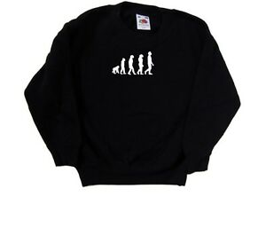 Evolution-Of-Man-Kids-Sweatshirt