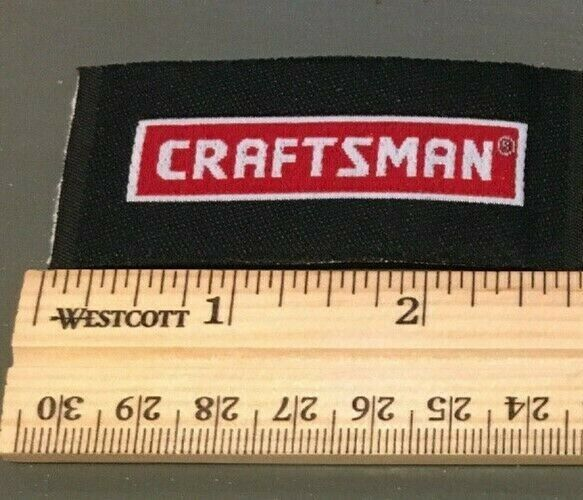 Craftsman Tools Racing Automotive Garage 1 Embroidered Patches WithGood Feedback