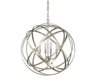 Capital Lighting   4234Wg 4 Light Axis Pendant Fixture With Winter Gold Finish