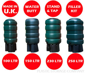 premium water butt barrel design rainwater garden 4. Black Bedroom Furniture Sets. Home Design Ideas