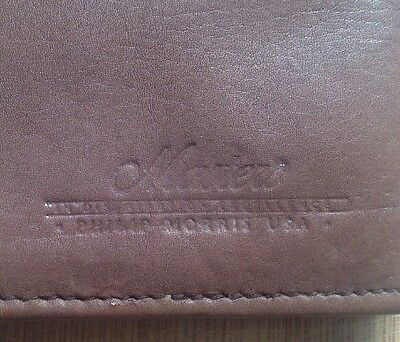 Masters Philip Morris Usa Wallet  Checkbook Cover And Credit Card Cover