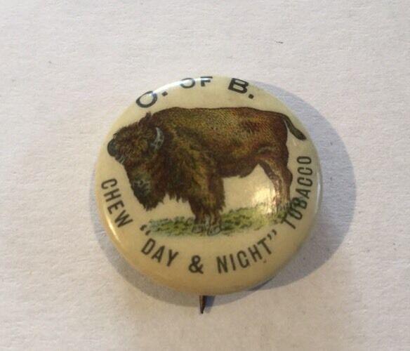 Vintage Tobacco Advertising Pinback Button