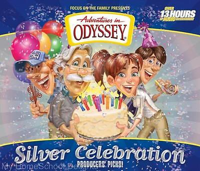NEW Adventures in Odyssey SILVER CELEBRATION 12 CD Set Sealed 36 Audio Episodes
