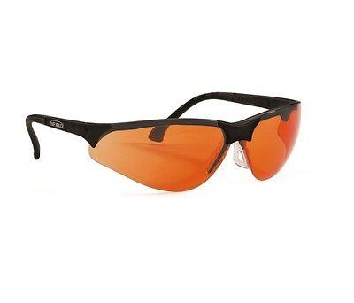 Infield Terminator UV-400 Schutzbrille orange UV und Blaulicht Schutz Glasses