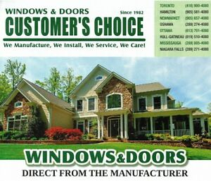 Massive Sale from L A R G E S T Window Manufacturer in Ontario!