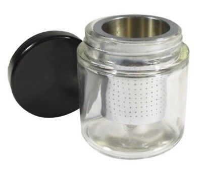 Gold Gem Stone Jewelry Small Parts Cleaning Cleaner Sift Bottle Prospecting Jar