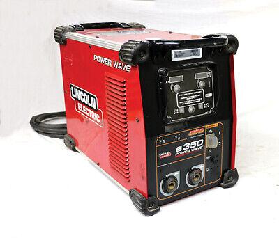 2014-13 Lincoln K2823-3 - 350 Amp Power Wave S350 Process Welder W 25m Feeder