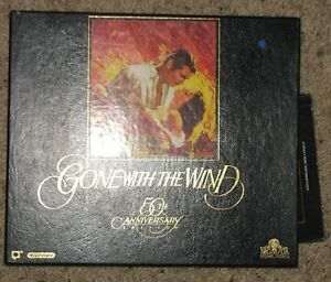 Gone With the Wind - 25th Anniversary VHS set and Poster