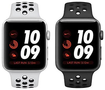 Nike Plus Watch (Apple Watch Series 3 Nike+ Plus Aluminum 42MM Silver Space Gray | Good B-Grade)
