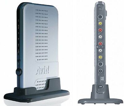 Avid Mojo DNA Digital Nonlinear Accelerator Video Editor Media Convertor PC MAC