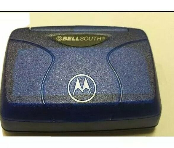 Motorola Talkabout T900 Pager Blue - Works. Includes Belt Clip Perfect Condition