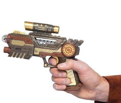 Steampunk Gun Pistol Nemo Prop Blaster Handgun Cosplay Accessory Halloween