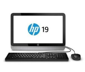HP 19-2000 19-2029w All-in-One Computer - AMD E1-2500 6GB  500GB
