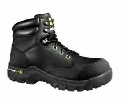 Carhartt 6-inch Rugged Flex Work Boots Safe Toewaterproof Cmf6371 Mens Size 12