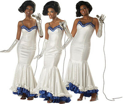 Dreamgirls Supremes Diana Ross  Womens Halloween Costume 60s Size Medium - Ross Costumes Halloween