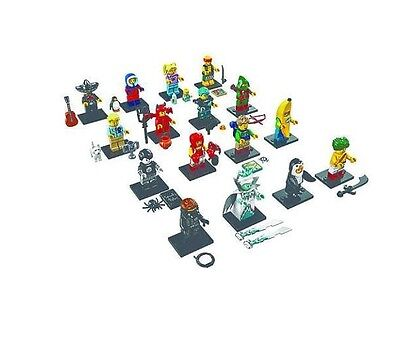 Worldwide ship NEW LEGO Series 16 MINI FIGURES COMPLETE SET 71013 FACTORY SEALED
