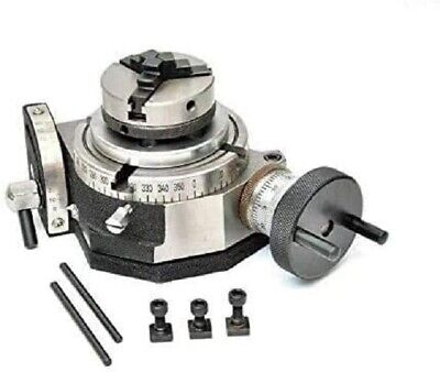 Tilting Rotary Table 4100mm With 65mm Mini Scroll Chuck