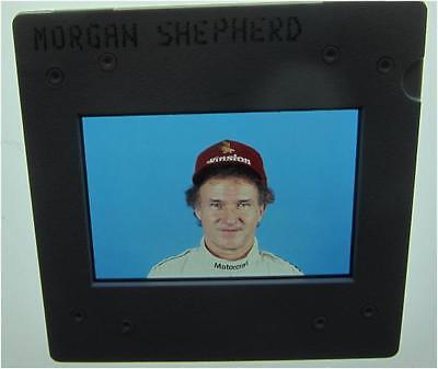 MORGAN SHEPHERD 1970-2014 NASCAR 4 WINS 10 POLES  ORIGINAL SLIDE 1