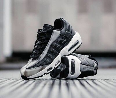 Nike Air Max 95 SE 918413-001 Black White Anthracite UK 7 EU 41 US 9.5 New