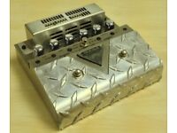 Mesa Boogie V-twin Tube Pre-Amp Pedal plus Additional Circuit & Switch Modifications. Inc. Box + PS