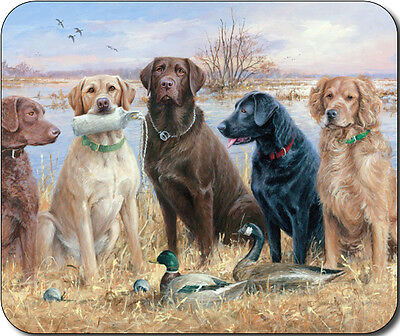 Hunting Bird Dogs Large Mousepad Mouse Pad Great Gift Idea