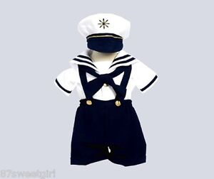 Boy-white-navy-blue-nautical-sailor-short-set-6mo-12mo-18mo-24mo-2t-3t-4t