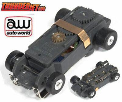 2 TYCO TCR HO Slot Car LIME Wheel REAR End GEARS TIRES Axle /& WHEELS Unused!
