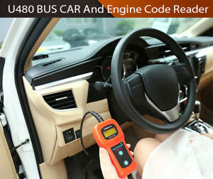 U480 code reader scan, read, clear codes 100% NEW