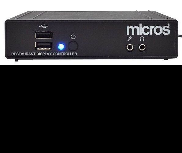 Micros DT166 Restaurant Display Controller w/ Power Supply, VGA and Internet