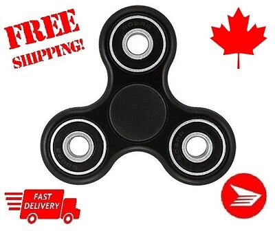 Lots of 25 Premium Fidgets Spinners EDC Stress Relief Focus Hand Finger  BLACK