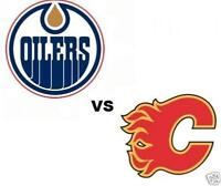 4 Flames vs. Edmonton Oilers tickets - Hard copy, only $500 obo