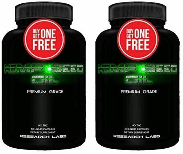 - 30000 MG Premium Hemp Oil Capsules - Buy 1 GET 1 Free 100% Organic All Natural