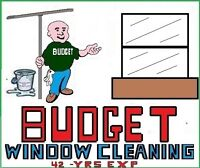 BUDGET WINDOW CLEANING   42 years exp;
